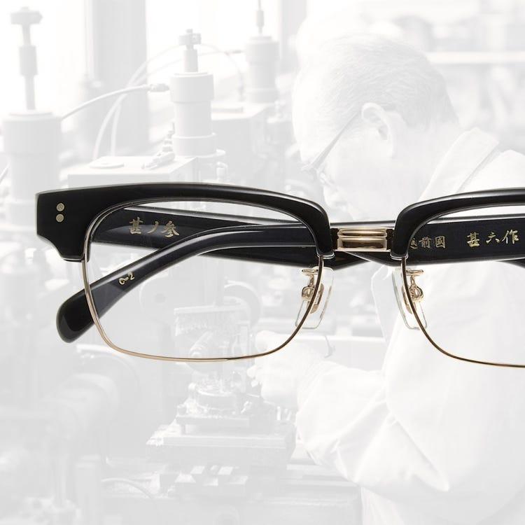 Japanese-made (Fukui Sabae produced) eyewear brand