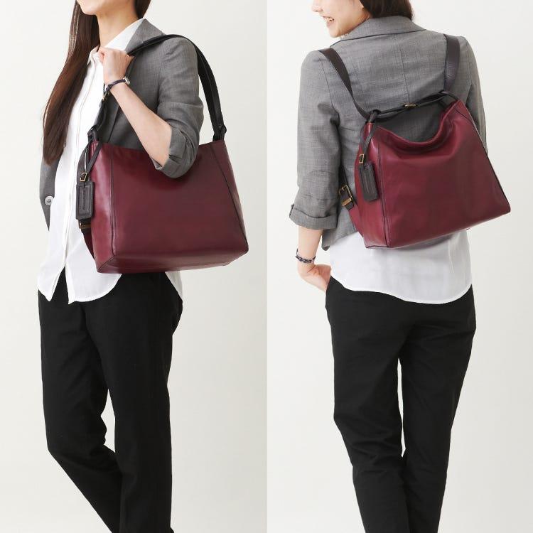 Yozora中型兩用包(Yozora 2 Way Bag M)<br /> 可隨即變換成肩背包或後背包。