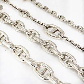 HERMES chaine dancre bracelet