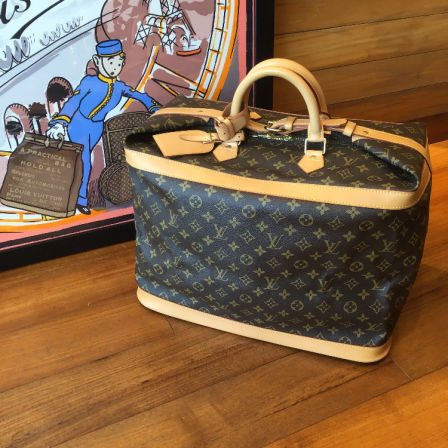 Vintage LOUIS VUITTON Cruiser bag 45  ¥190,000(TAX FREE PRICE)  PVC+LEATHER / end of production