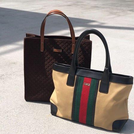 vintage GUCCI BAG  left ¥38,000+tax   Right ¥42,000+tax