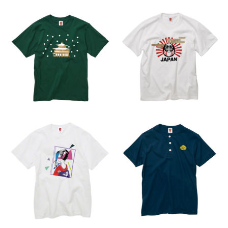 お土産にピッタリな日本文化デザインTシャツ