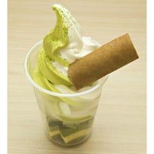 Kyo-baum soft-serve ice cream