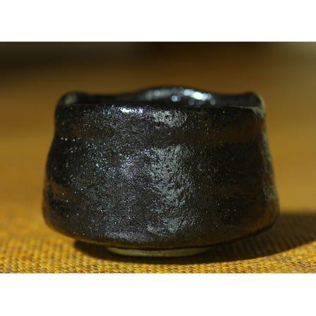 Black Raku Bowl