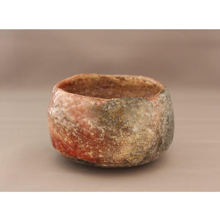Red Raku Bowl