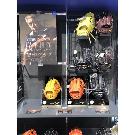岸本手套大师制作的原创硬式棒球手套