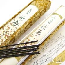 A Japanese masterpiece blend of aloeswood. Seijudo Gokuhin Kyara Enju