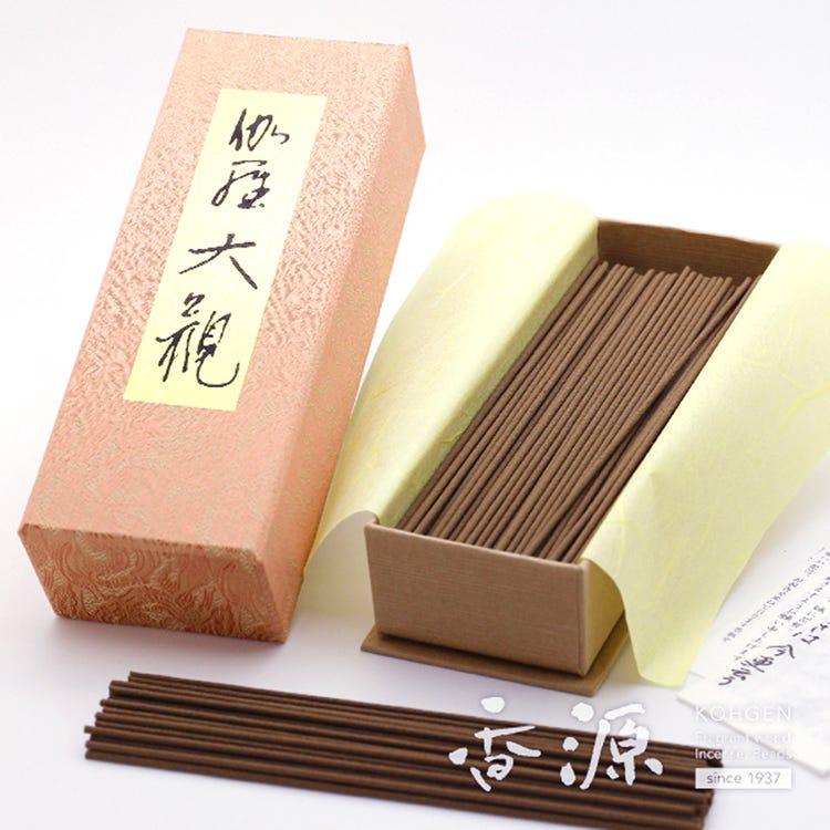 大量使用伽羅作成的豪華頂級香氛 日本香堂 伽羅大觀