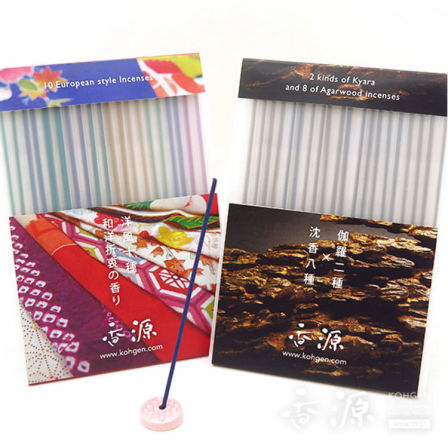 Want to try various incense! Want to find my favorite scent! You can try 20 kinds of incense recommended for you. 20 kinds of incense set (10 kinds each for Japanese and Western incense)