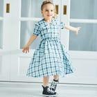 格紋襯衫洋裝