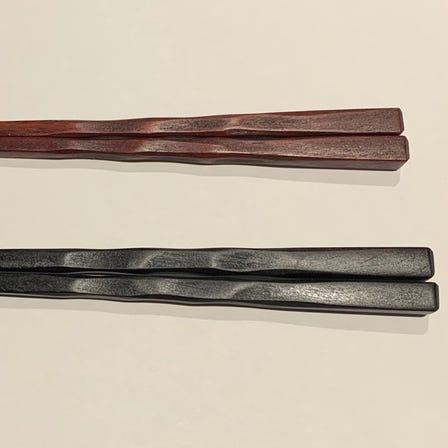 使用手感舒适 延寿筷 黑檀木 紫檀木