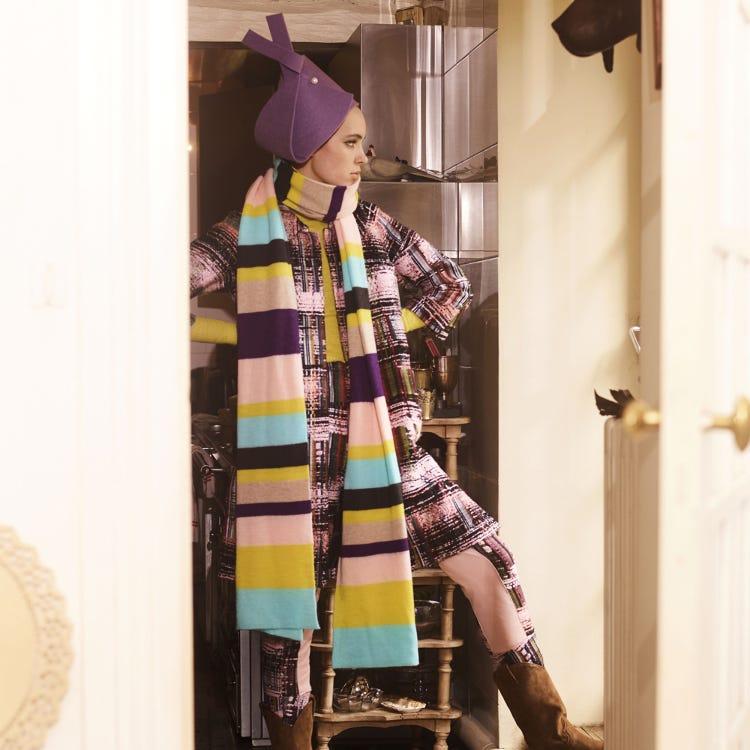 MALHIA 2 tweed coat