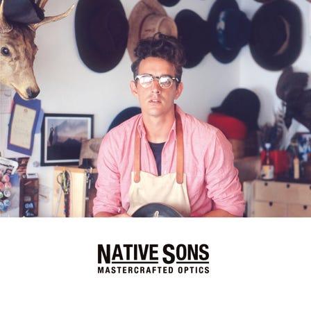NATIVE SONS<br /> 講究簡約&精緻細節的日本製眼鏡。