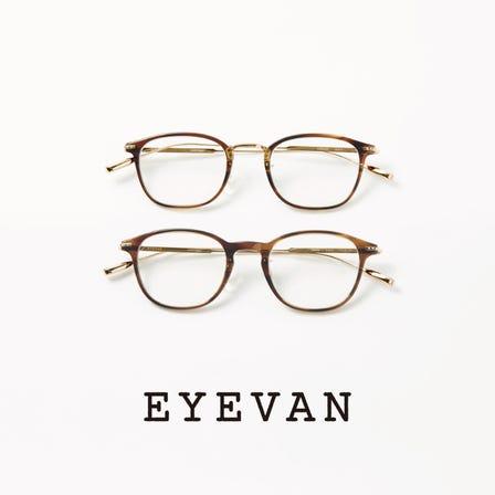 EYEVAN<br /> 高品質時尚眼鏡品牌。日本製。