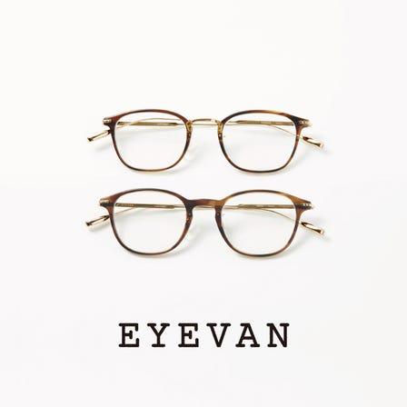 EYEVAN 高品質時尚眼鏡品牌。日本製。