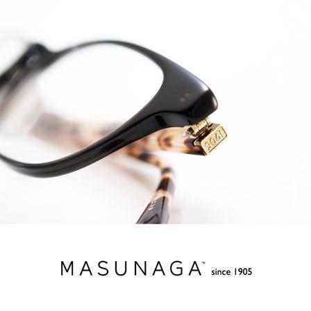 MASUNAGA 1905<br /> 历史悠久的日本眼镜制造商。高品质。