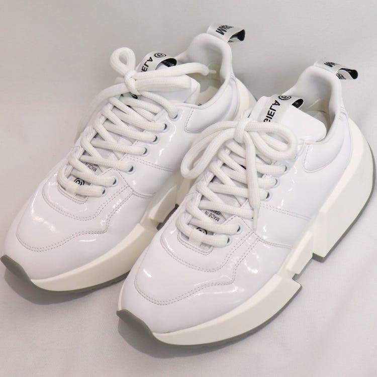 MM6/BRIGHT WHITE SNEAKER/size36,37/BRIGHT WHITE