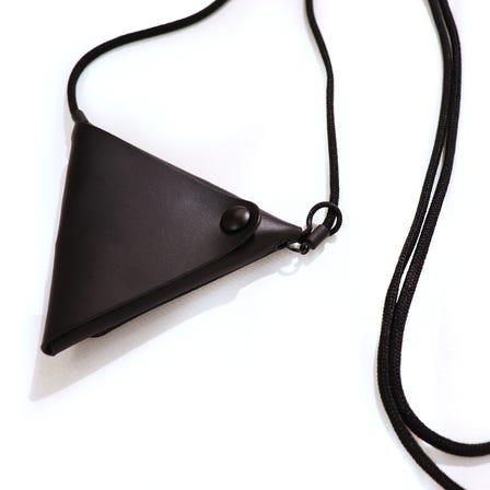 Maison Margiela / MMA Triangle Coin Necklace / sizeFREE / BLACK