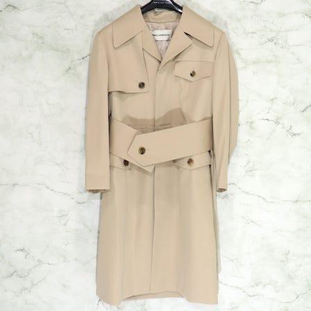 TARO HORIUCHI / Waistmark coat / size1 / BEIGE