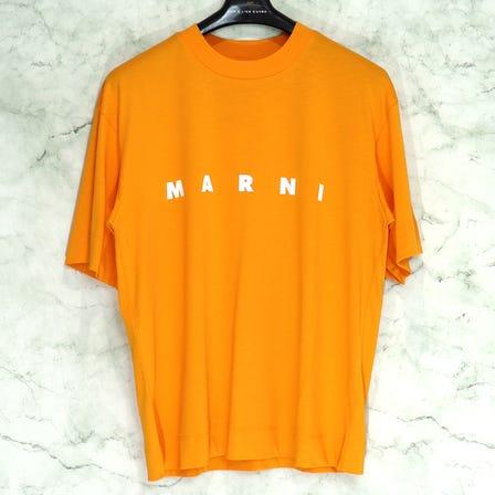 MARNI / MA S/S CREWNECK T-SHIRT / size36 / SUN ORANGE