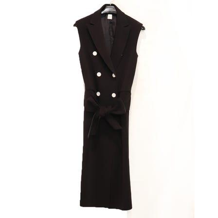 STAIR / ST OPEN GILLET DRESS / size1 / BK