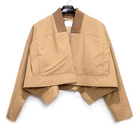 SPORTMAX / SM Cropped Jacket / size:40 / SAND