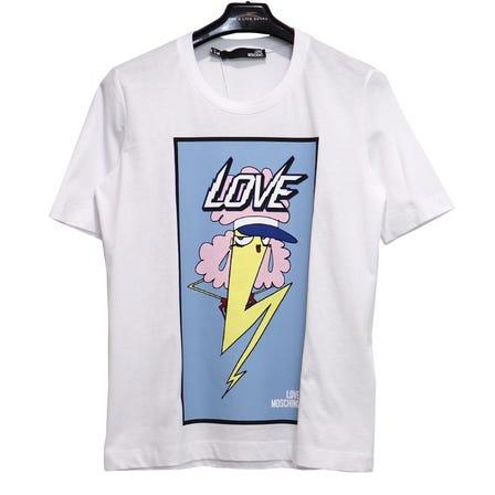 LOVE MOSCHINO / キャラクターロゴ TEE /SIZE40