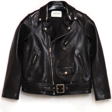 beautiful people / bp vintage leather riders jacket / size150