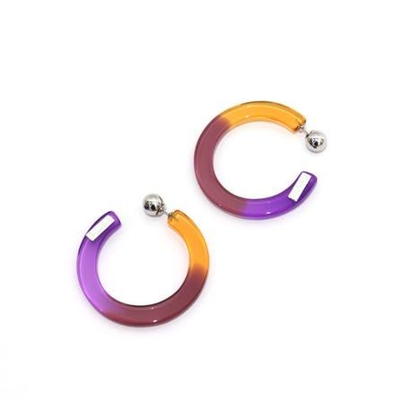 Bijou / BI Tie-Dye Hoop
