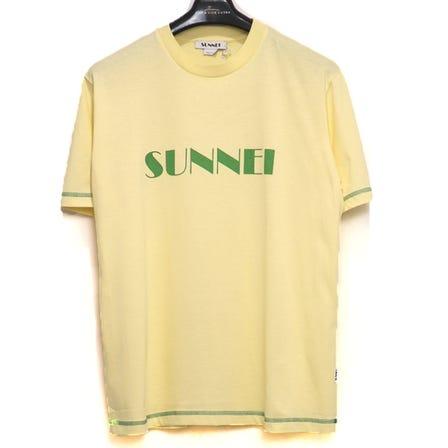 SUNNEI / SU T-SHIRT W LOGO PRINT