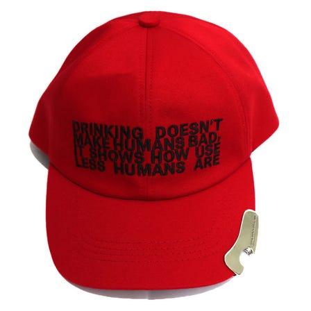 JOHNLAWRENCESULLIVAN / JLS EMBROIDERED CAP WITH BOTTLE OPENER