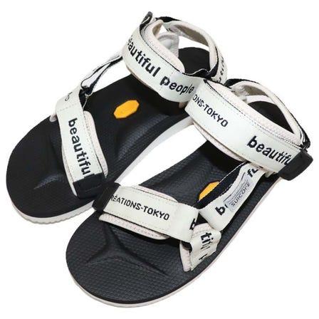 beautiful people / bp bp×suicoke logo belt sandals / Size:23