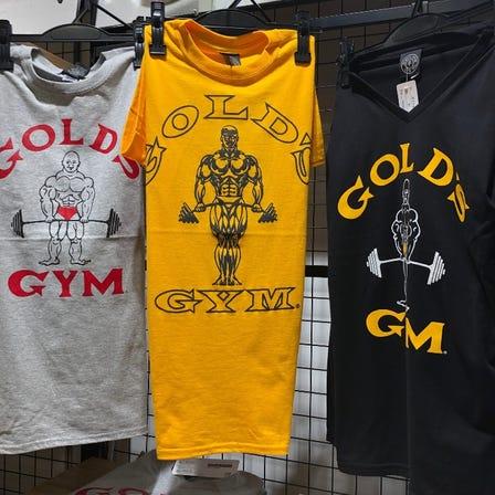 골드짐 티셔츠