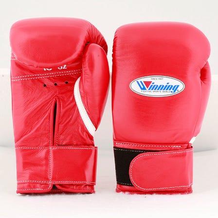 Winning 拳击手套 魔鬼毡 (红色、蓝色、黑色、白色) 8~16oz