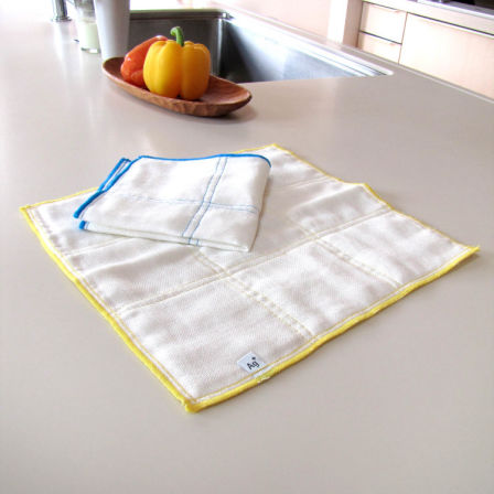Ag+ Silver ion sterilization dish towel 2sheets<br /> Does not smell dish towel