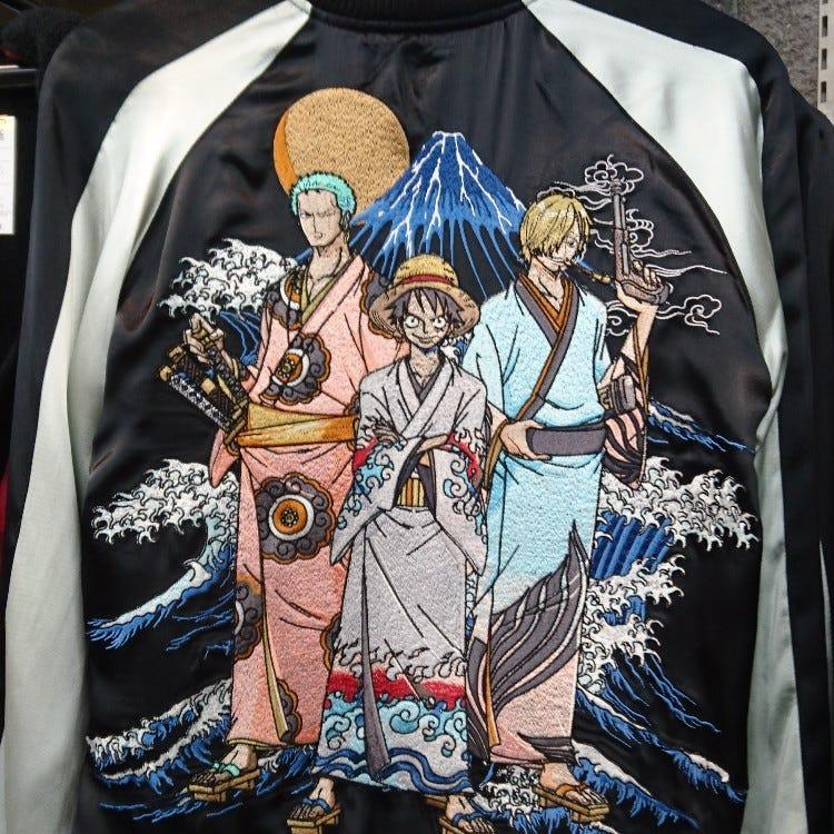 海贼王 三人组 横须贺外套