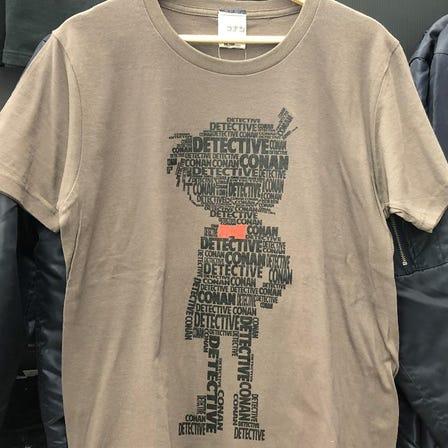 名偵探柯南 剪影 T恤