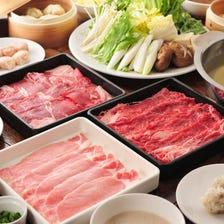 5F【しゃぶしゃぶDiningろく】A5ランク国産黒毛和牛食べ放題