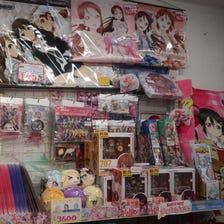 미소녀 관련상품<br /> 각 작품들의 미소녀 피규어와 굿즈를 발견할 수 있습니다.