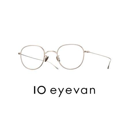 10 eyevan<br /> 由10個特殊零件組成的優美眼鏡。日本製。