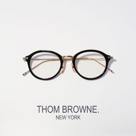 THOM BROWNE<br /> 充满典雅设计风范的高品质眼镜。日本制造。