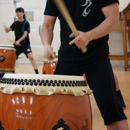 일본 전통 북 체험 레슨