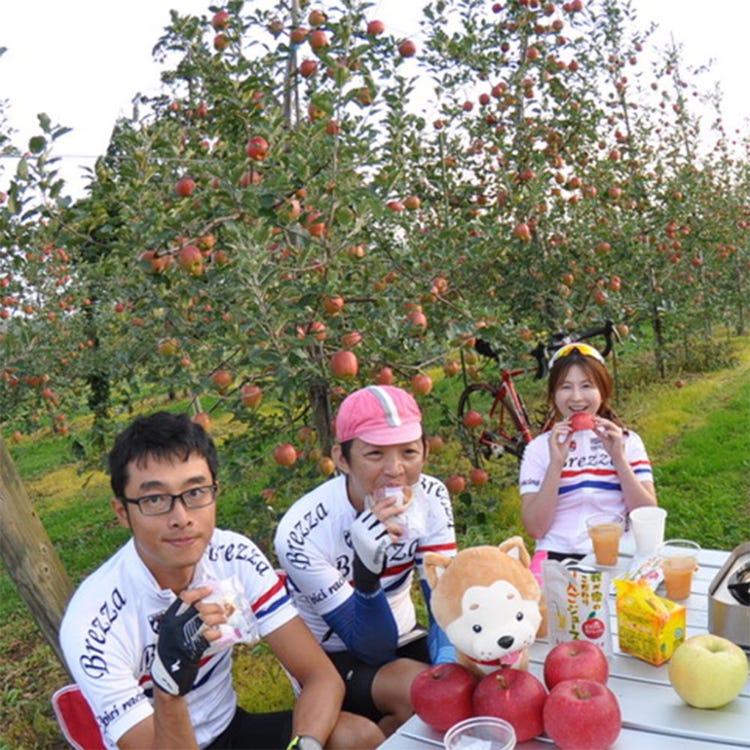 Akita Satoyama cycling