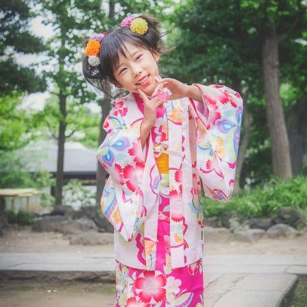 Children's kimono plan