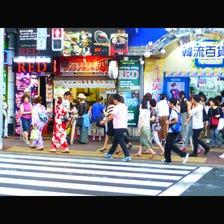 新大久保商店街(新大久保韓國城)