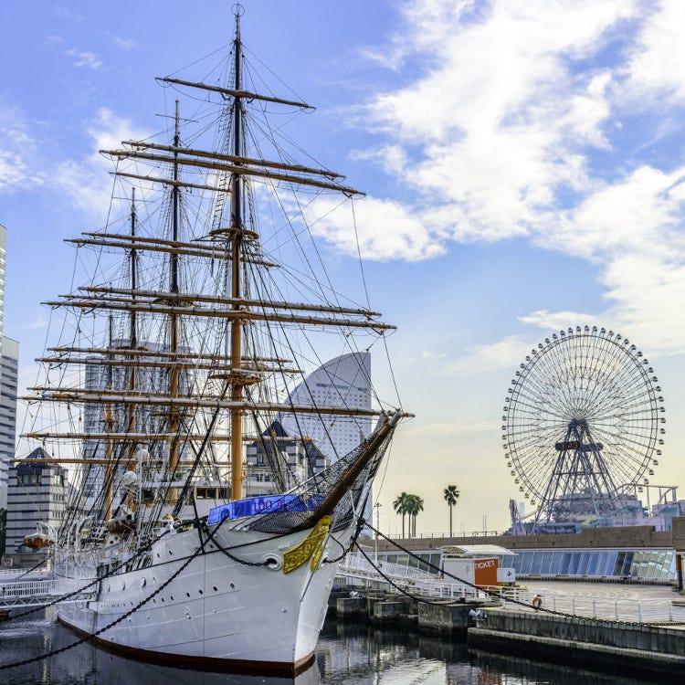 帆船日本丸・横浜みなと博物館