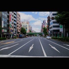江戸通り問屋街