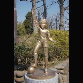 캡틴 츠바사의 휴가 고지로 동상