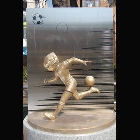 足球小将翼・大空翼铜像