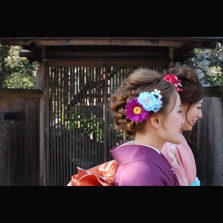 Kimono rental shop - Imakoji